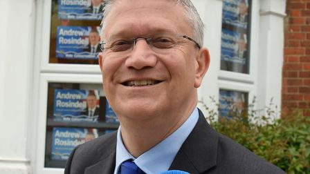 Andrew Rosindell MP. Picture: Ken Mears