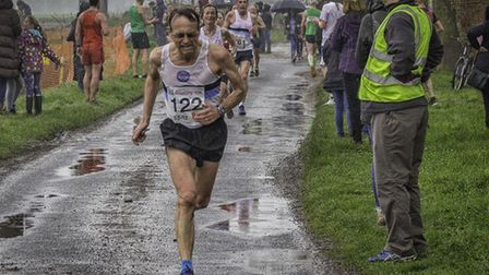 Andy Catton of Ilford AC club record holder for so many distances