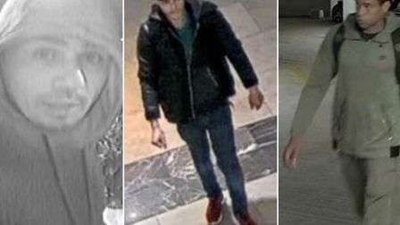 If you recognise any of these people, contact police and use the following unique reference numbers: