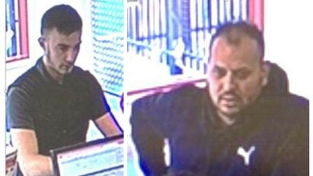 If you recognise either of these men, contact police and use the unique reference numbers urn035732