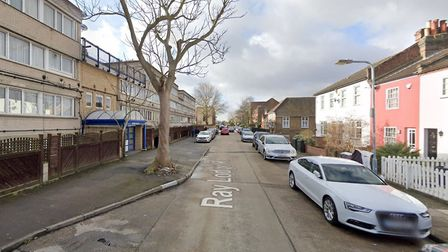 A 32-year-old man was stabbed in Ray Lodge Road on Sunday afternoon. Picture: Google Maps