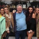 Little Mix turned heads when they visited Number 8 Forest Gate for a photo shoot about three years a
