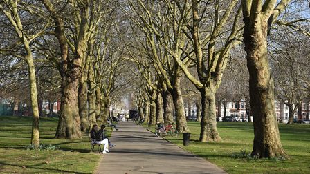 Newham Council has warned people to follow lockdown rules ahead of the long weekend. Picture: Ken Me