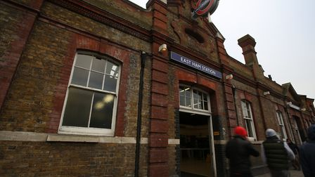 East Ham station was once a 'quaint little wooden station'. Picture: Ellie Hoskins