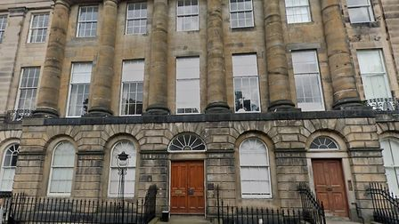 The Trenchard house, which is actually Moray Place in Edinburgh. Picture: Google