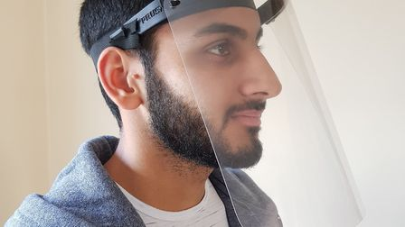 Dhiresh Nathwani, a student at the London Design and Engineering UTC in Newham, is coordinating the