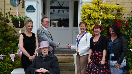 The fair was opened by mayor of Lowestoft Stephen Ardley.
