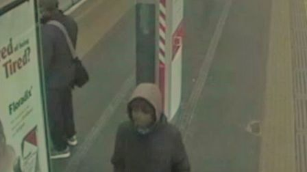 Police would like to speak to this man. Picture: Met Police