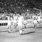 West Ham players celebrate winning the FA Cup in 1980 (pic Steve Bacon)