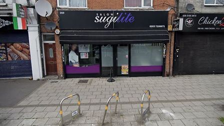 Another business that is waiting for their money is Shugilite Salon. Picture: Google Maps