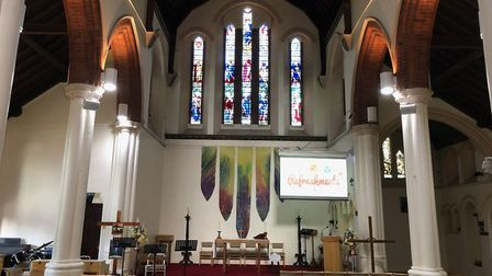 Like all places of worship, Ascension Church Victoria Dock is closed due to the coronavirus pandemic