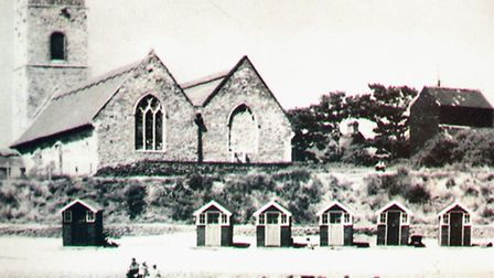 A view of Pakefield Church from times gone by. Pictures: Mick Howes.