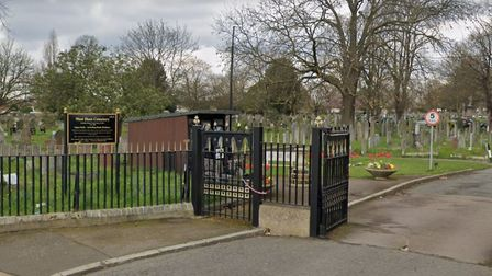The gates to West Ham Cemetery will be closed to the public from 5pm on Thursday, April 6 after visi