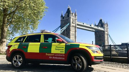 The Physician Response Unit is now operating two cars and extended hours. Picture: London's Air Ambu