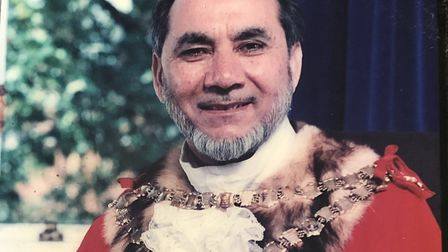 Mr Sheikh was ceremonial mayor of Newham during the 1998-99 municipal year. Picture: Sheikh family
