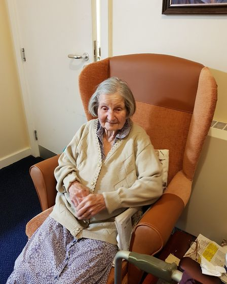 Helen Buniak says her 96-year-old mum Jean feels 'like a sitting duck' after the care home had to ta