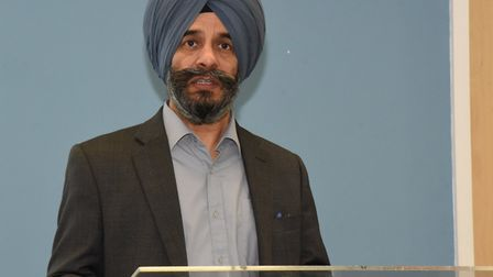 Cllr Jas Athwal said that failures at national level were being picked up and fixed locally . Pic