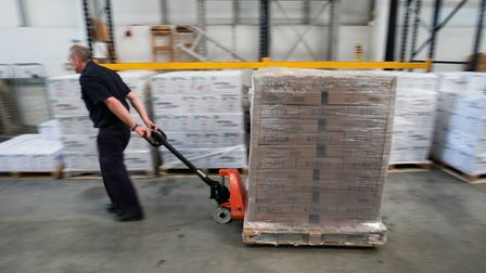 More than two million pieces of equipment have been delivered so far. Picture: Aaron Chown/PA Wire