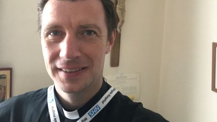Father James Mackay has set up a 24-hour chaplaincy system to help tend to the religious needs of th