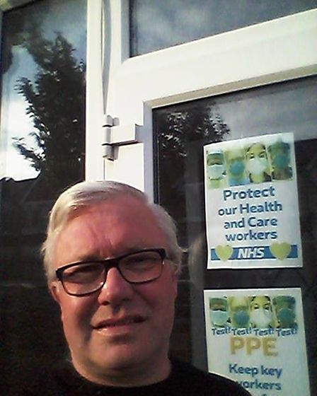 """Cllr Paul Donovan said """"let's applaud our NHS and care workers but also demand action on the ground"""