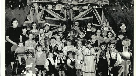 A VE Day celebration in Newham. Picture: Megan Hopkinson