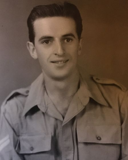 Dennis served in Palestine after the Second World War and left the army in 1948. He moved to Harold