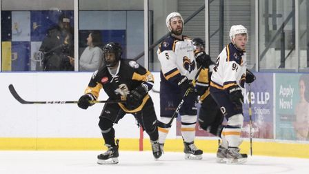 Courtney Grant in action for Chelmsford Chieftains against Raiders last season (Pic: Nicola Day)