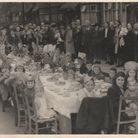 David Coveney was a baby in his mothers arms in this picture from the VE Day celebrations in Gants H