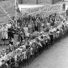 1945 VE Day Ilford celebrations (Pic: Redbridge council)