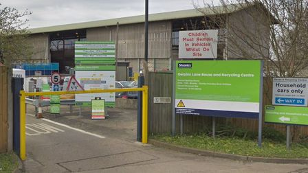 Gerpins Lane tip is due to reopen on Monday, May 11. Picture: Google