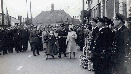 The Royal family visits Ilford on May 9, 1945. Picture: Redbridge Museum & Heritage Centre