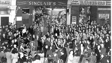 VE Day 1945 in Meads Lane, Seven Kings. Picture: Redbridge Museum & Heritage Centre
