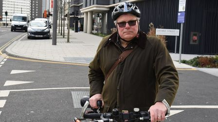 Newham Cyclists coordinator Arnold Ridout. Picture: Ken Mears