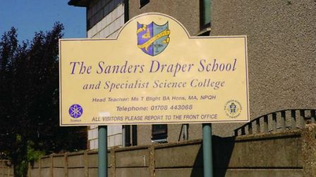 "In 2014, the school changed its name to drop the Sanders Draper surname to ""start afresh."" Picture:"