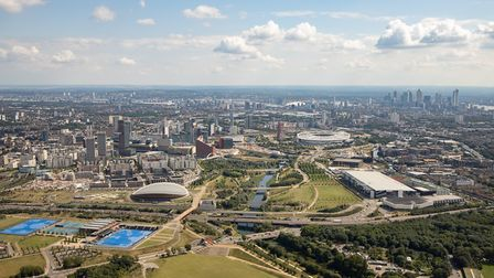 The boss of Queen Elizabeth Olympic Park has warned security will step in to enforce social distanci