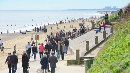 More frequent bus services will enable people to enjoy the popular beach in Southwold. Picture: Jame