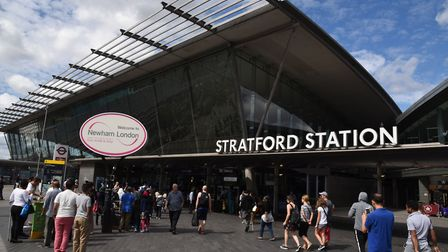 Stratford station is one of London's 20 busiest. Picture: Ken Mears