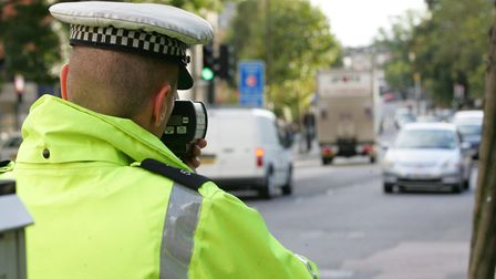 Between Tuesday, March 24 and Wednesday, May 20, police caught 6,379 people speeding. Picture: Steve