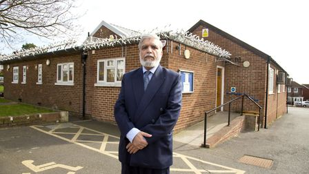 Dr Sohail Hameed outside New North Road Community Centre, which was at the centre of a planning com
