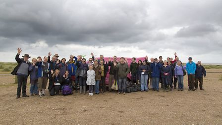 Southwold Beach Cleaners June 2016