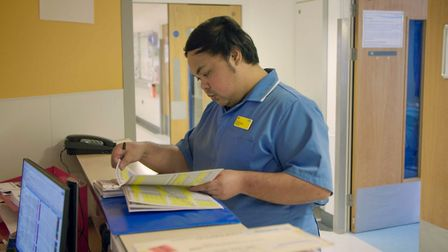 Saving Our Nurses is a new BBC One documentary filmed at Queen's and King George hospitals. Picture: