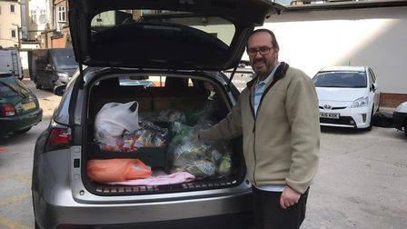 The Chabad Lubavitch Centre is given food donations by Tesco. Picture: Chabad Lubavitch