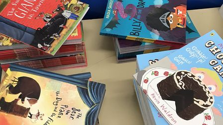 Staff members at Seven Kings School are hand delivering books to each student. Picture: Seven Kings