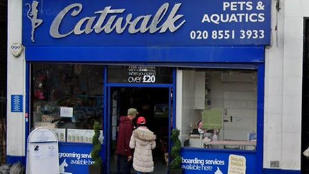 Catwalk Pets and Rescue, High Street, Barkingside. Picture: Google Maps