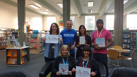The project 'Tickets for the Afterlife has extended to libraries in the north such as Kirklees. Pict