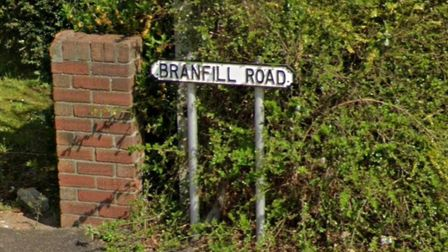 Branfill Road is named after Andrew Branfill, who trafficked slaves for roughly three decades.Pictur