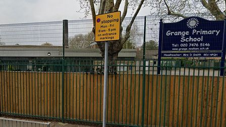 Grange Primary School in Canning Town. Picture: Google Maps
