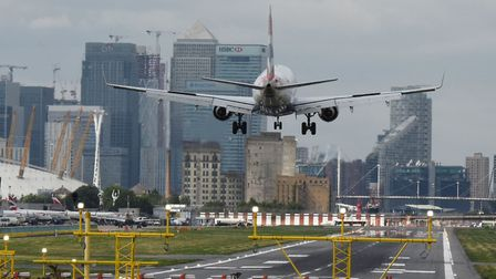 Flights are expected to resume at London City Airport on June 21. Picture: Ken Mears