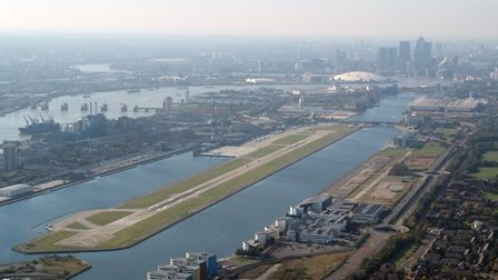 Passenger flights at London City Airport were suspended on March 25 because of the escalating corona