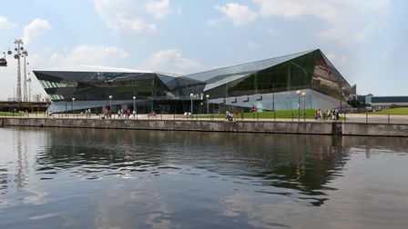 Land in the Royal Docks on which the Siemens Crystal was built was passed to the GLA. Picture: Archa